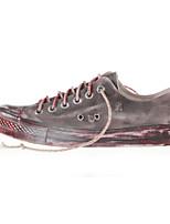 Scarpe Donna - Sneakers alla moda / Scarpe da ginnastica - Tempo libero / Casual / Sportivo - Comoda - Piatto - Di corda - Rosso