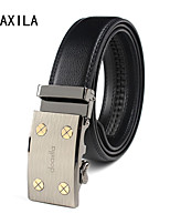 Men Party/Work/Casual Calfskin Waist Belt new men's business casual belt leather belt leather belt fashion wild Belt