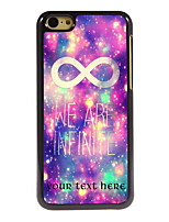 Personalized Gift We Are Infinite Design Aluminum Hard Case for iPhone 5C