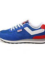 Men's Shoes Casual Synthetic Fashion Sneakers Black/Blue/Red/Navy