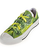 Hand-painted  Shoes Canvas Flat Heel Comfort Fashion Sneakers/Athletic Shoes Outdoor/Athletic/Casual Multi-color