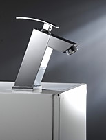 Aquafaucet Single Handle Bathroom Vanity Sink Vessel Faucet with Lavatory Mixer Tap Chrome