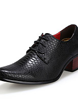 Men's Sneakers Formal Shoes Comfort Light Soles Synthetic Microfiber PU Fall Winter Wedding Casual Office & Career Lace-upLow Heel Chunky