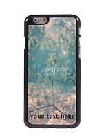 Personalized Gift Dreamer Design Aluminum Hard Case for iPhone 6