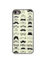 Personalized Gift The Moustache Design Aluminum Hard Case for iPhone 4/4S