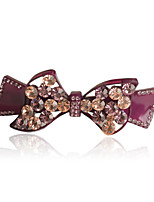 Hairpin of Acetate with Austrian Rhinestone , High quality Hair Clip New Design Hair Accessories
