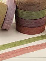 Mosaic Gold Fold Organza Ribbon-10M(More Colors)