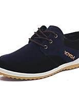 Men's Shoes Outdoor/Office & Career Leather Oxfords Blue/Brown/Green