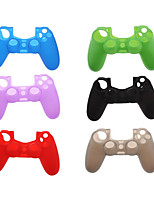 Silicone Protective Skin for Sony PS4 Game Controller (Assorted Colors)