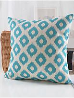 Modern Style Geometric Cotton/Linen Decorative Pillow Cover