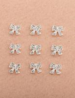 - Finger - 3D Nails Nagelaufkleber/Nail Schmuck - Metall - 10PCS/Set