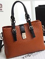Handcee® Most Popular Woman PU Fashion Woven Handbag