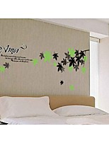 The Leaf Spring Decorative Wall Stickers