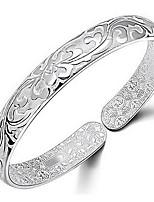 925 Sterling Silver Carpet Of Flowers Bracelet