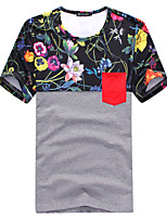 2015 High Quality 95% Cotton Brand Men's T-Shirt Short Sleeve 3 Color M-3XL