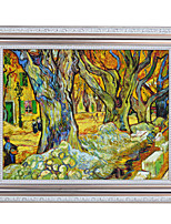 Tree By Vincent van Gogh Framed Canvas Print