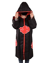Naruto Eagle Organization Black Cloak Cosplay Costumes