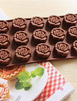 Bakeware Rose Baking Molds Chocolate Mold Cookies Mold Ice Mold