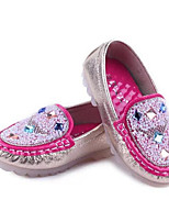 Girls' Shoes Dress Moccasin/Closed Toe  Loafers Pink/White