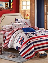 London Bedding Set of 4pcs Queen/Twin Set Boy First Choice