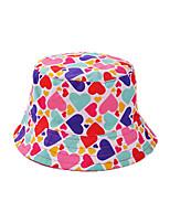 Girls Summer/Winter/All Seasons Cotton Hats &  Fisherman Hats with Heart