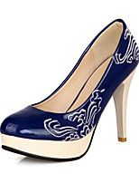 Women's Shoes Patent Leather Stiletto Heel Round Toe Pumps Dress More Colors available