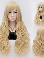 Sexy Women Anastasia Rich Brown Long Wave Wig Blonde