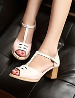 Women's Shoes Chunky Heel Peep Toe Pumps Shoes More Colors available