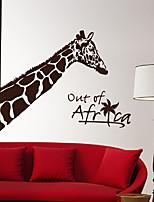 Wall Stickers Wall Decals, Modern Small fresh Giraffe PVC Wall Stickers