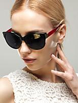Women 's 100% UV400 Anti-Radiation Cat-eye Sunglasses