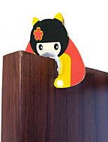 Baby Mate 4 PCS Non-slip Finger Pinch Guard for Doors (Cartoon Prints, Family Set, 4 PCS)