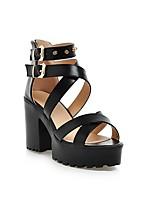 Women's Shoes Chunky Heel Heels/Peep Toe/Platform Sandals Outdoor/Office & Career/Casual Multi-color