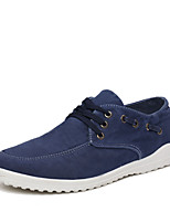 Men's Shoes Outdoor/Office & Career Canvas Fashion Sneakers Black/Blue/Taupe