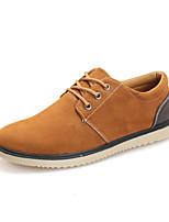 Scarpe da uomo - Sneakers alla moda - Tempo libero / Casual - Di pelle - Blu / Kaki