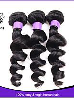 Human Hair Brazilian Virgin Hair Loose Wave 3 Bundles Brazilian Loose Wave 30 inch Wet And Wavy Virgin Brazilian Hair