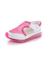 Girls' Shoes Outdoor/Athletic/Dress/Casual Mary Jane/Comfort/Round Toe Faux Leather/Tulle Flats/Fashion Sneakers Pink