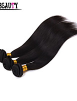 3Pcs/Lot 8-28 Indian Virgin Hair Kinky Straight Hair Unprocessed Remy Human Hair Weaving Rosa Hair Products Can Be Dyed