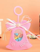 Pink  Dress Design Cute Baby Shower Candy Favor Bags  Set of 12