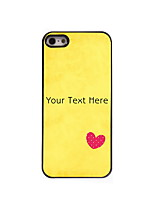 Personalized Gift The Heart Design Aluminum Hard Case for iPhone 5/5S