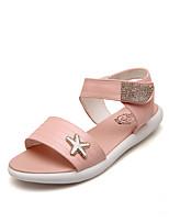 Women's Shoes Flat Heel Slingback Sandals Dress/Casual Blue/Pink/White