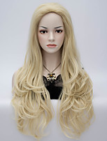 2015 Fashion Sexy Style Body Wave Blonde Wig New Arrival Synthetic Hair Wigs