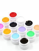 Nail Systems Pure Gel Color Kits(12PCS*8ml)