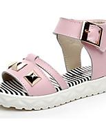 Girl's Casual Comfort Toe Flats Bespangled Sandal Shoes