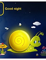 Lights Control Sensor Night Light Wall Stickers Dream Child Painting Wallpaper LED Light-Quick Snail