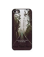 Personalized Gift Go Ahead Design Aluminum Hard Case for iPhone 5/5S