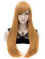 70cm Fashion Vogue Long Straight Cosplay Party Wig Heat Synthetic Wig +Wig Cap