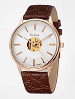 Entreprise la montre de 2015 nouveaux hommes avec mouvement à quartz de précision japonais&véritable quartz en cuir montres pour