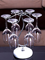 High Quality Nose-Shaped Wine Hanging Cup Rack, Stainless Steel 14.17