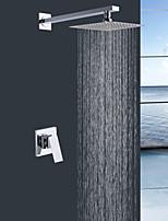 Shengbaier  Wall Mount Rain Single Handle Shower Faucet
