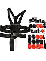 9 In 1 Accessories Suit  for Gopro Hero 4/3+/3/2/1/sj4000/sj5000/sj6000